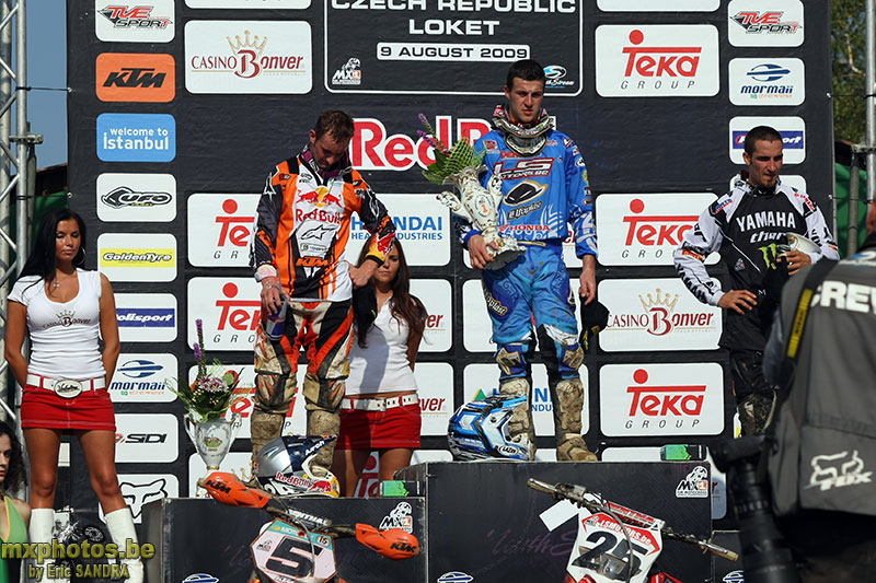09/08/2009 Loket : MX1 Clement DESALLE Podium