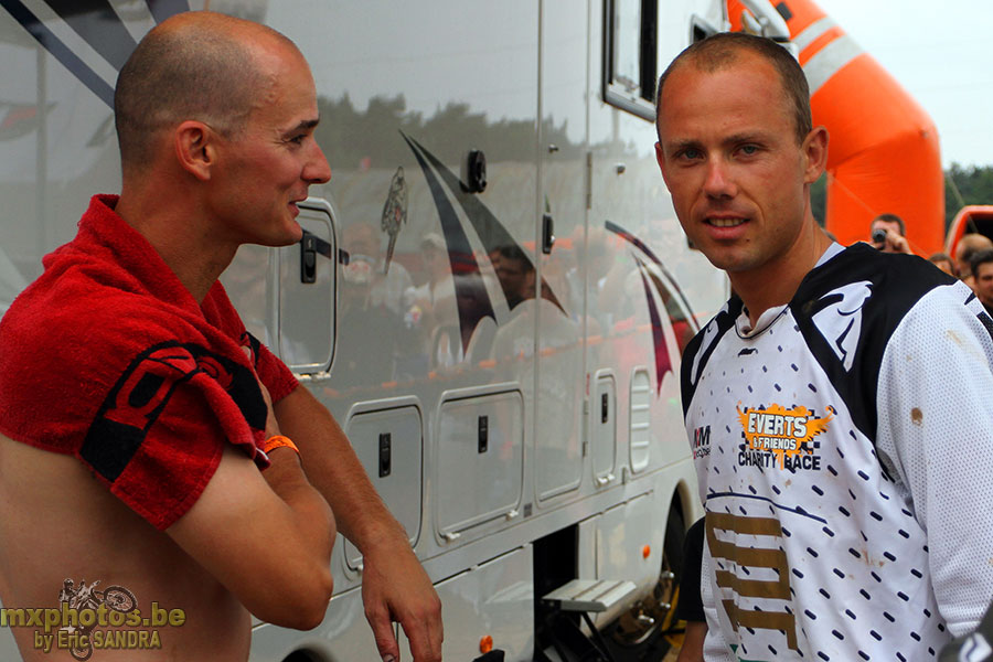 Photo of Sven Nys & his friend,