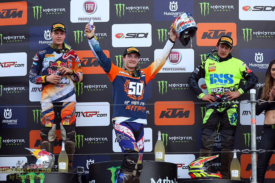 Podium MX2 Jeffrey HERLINGS