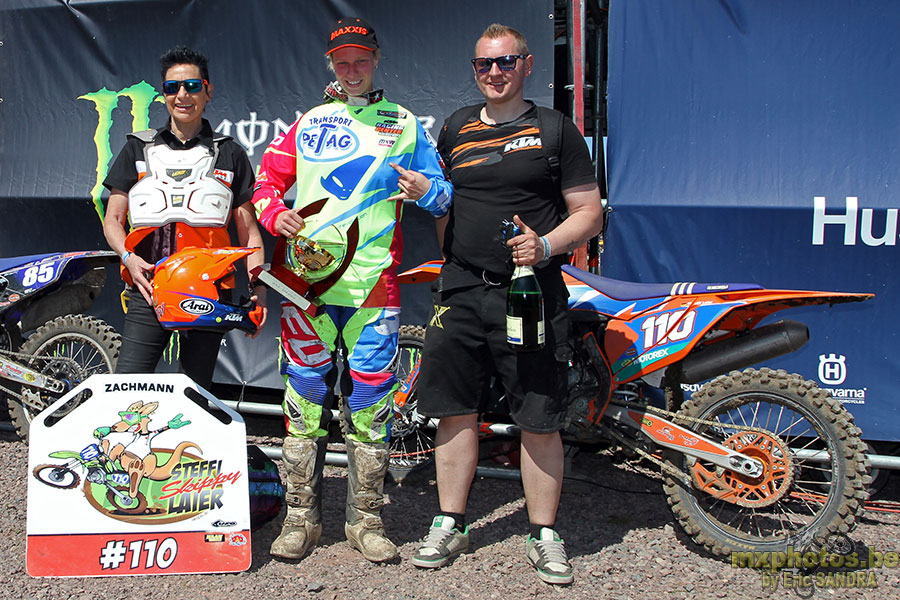 Podium WMX Stephanie LAIER