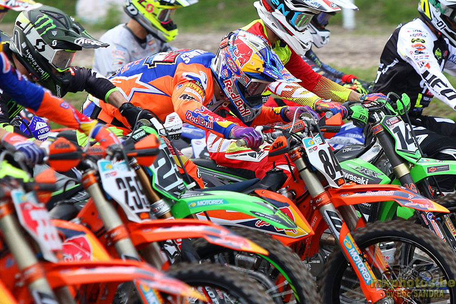 Start MXGP Race2 Jeffrey HERLINGS
