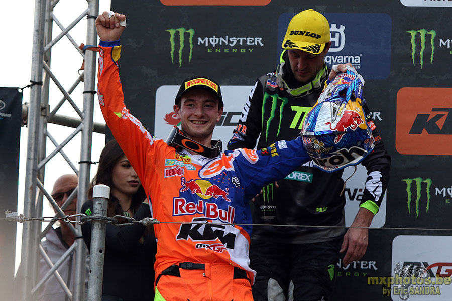 Podium MXGP Jeffrey HERLINGS